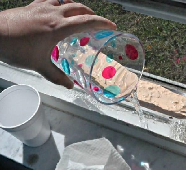 3 этап очистки ПВХ окна от грязи
