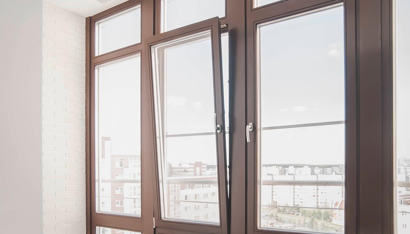 Фотография красивого пластикового ПВХ окна