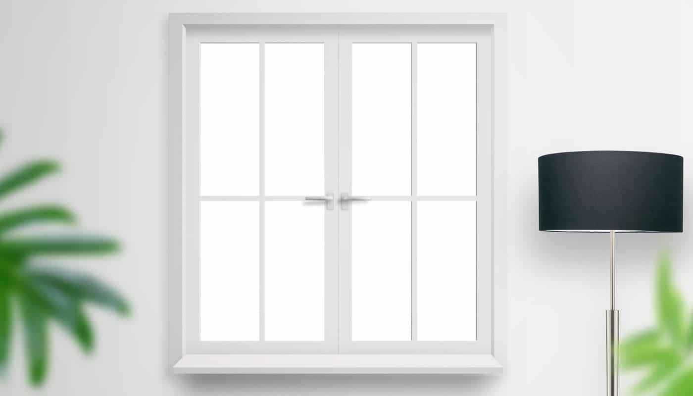 Картинка красивого ПВХ окна