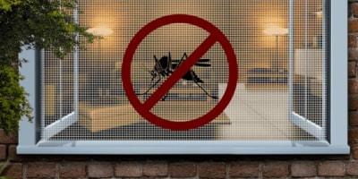 Москитная сетка для ПВХ окна